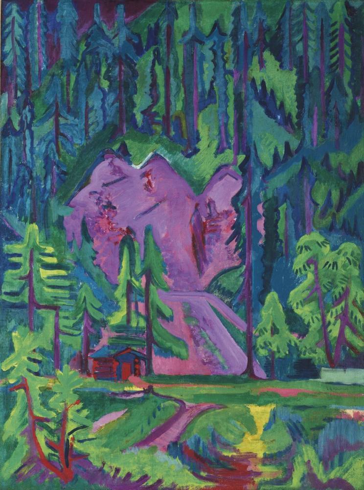 Ernst Ludwig Kirchner, Wildboden Yakınındaki Taş Ocağı, Kanvas Tablo, Ernst Ludwig Kirchner, kanvas tablo, canvas print sales
