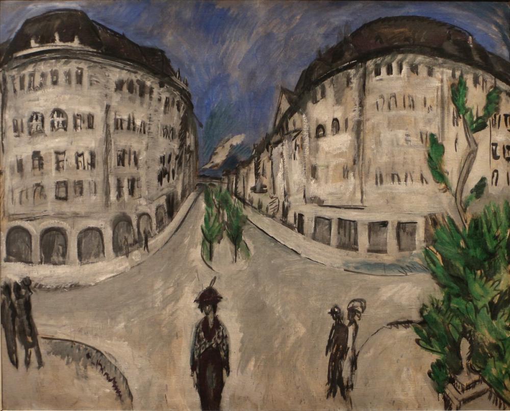 Ernst Ludwig Kirchner, Schöneberg Park Yolu, Kanvas Tablo, Ernst Ludwig Kirchner, kanvas tablo, canvas print sales