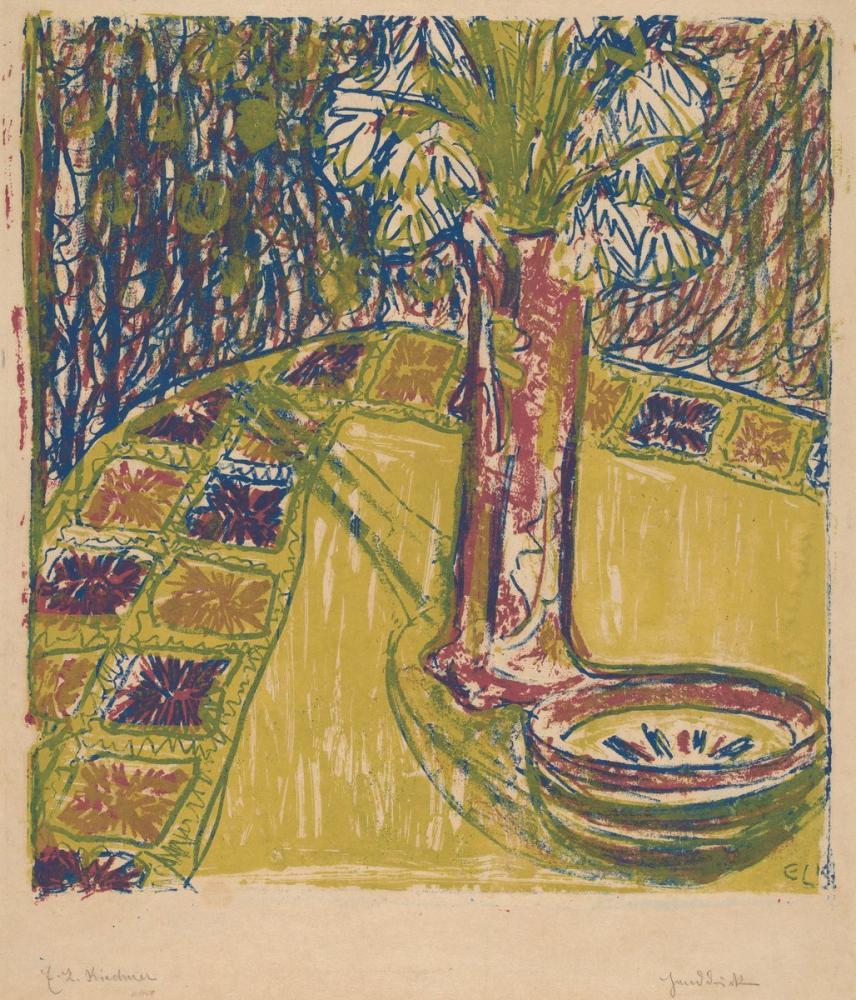 Ernst Ludwig Kirchner, Natürmort, Figür, Ernst Ludwig Kirchner, kanvas tablo, canvas print sales