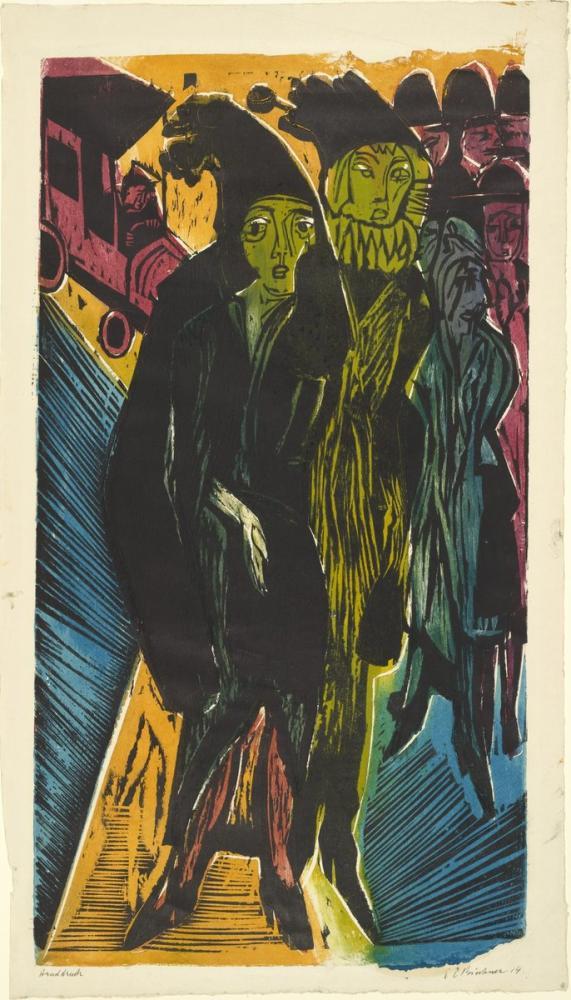 Ernst Ludwig Kirchner, Gizli, Figür, Ernst Ludwig Kirchner, kanvas tablo, canvas print sales