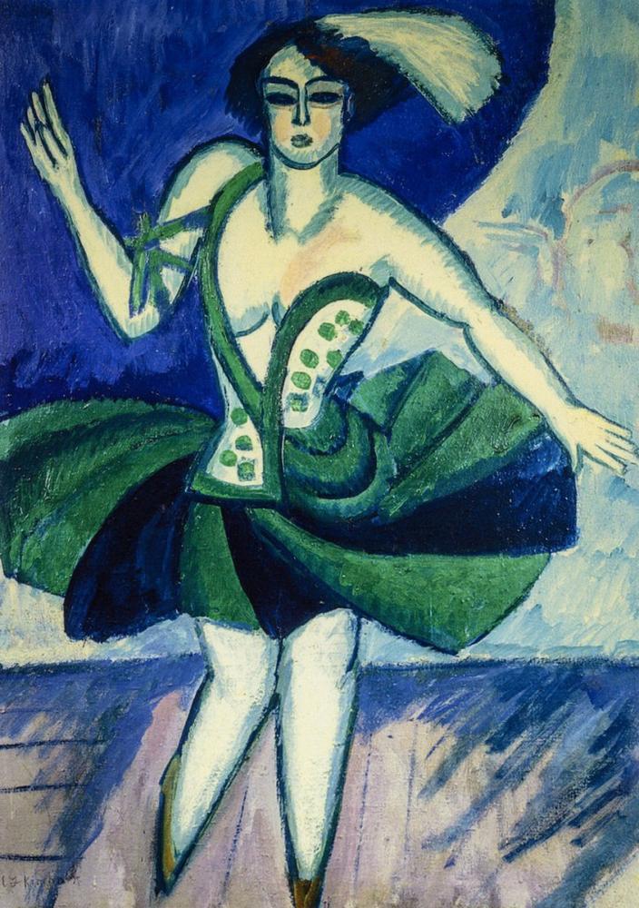 Ernst Ludwig Kirchner, Rus Dansçı Mela, Figür, Ernst Ludwig Kirchner, kanvas tablo, canvas print sales