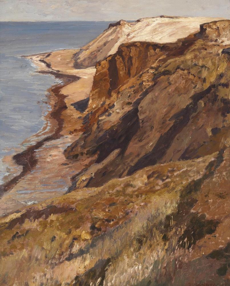 Eugen Bracht Coast On Sylt, Canvas, Eugen Bracht, kanvas tablo, canvas print sales