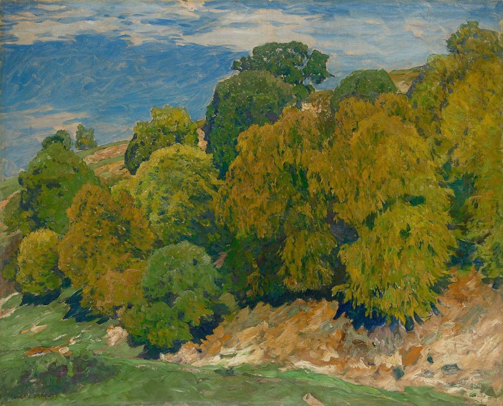 Eugen Bracht Forest, Canvas, Eugen Bracht, kanvas tablo, canvas print sales