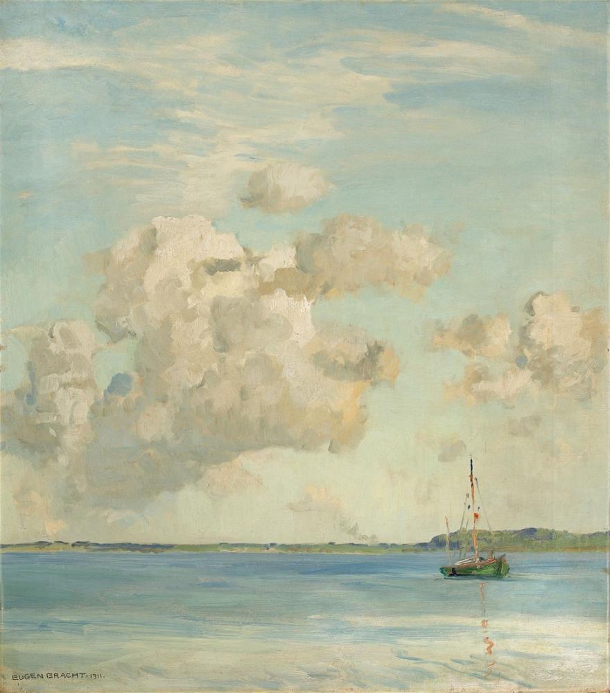 Eugen Bracht Abendwolken, Canvas, Eugen Bracht, kanvas tablo, canvas print sales
