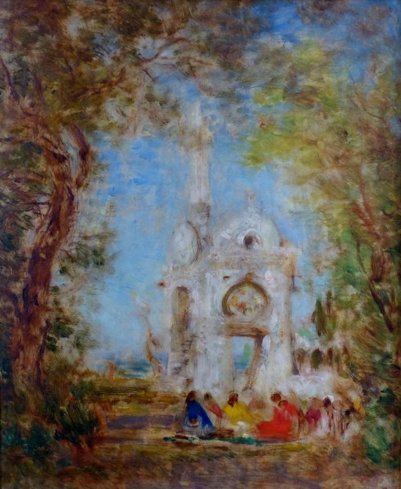 Félix Ziem Constantinople 1860, Orientalism, Félix Ziem