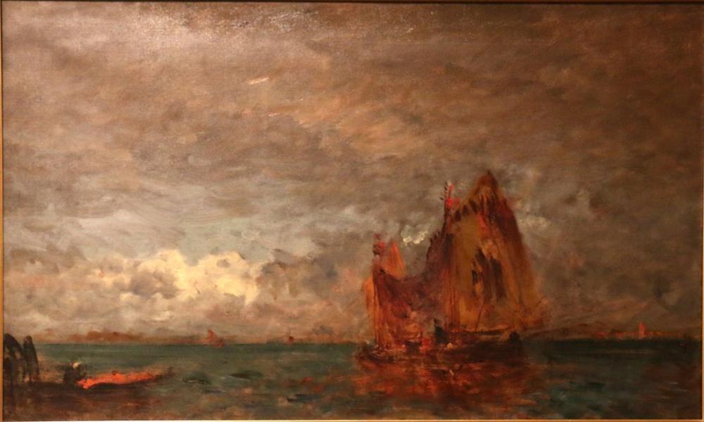 Félix Ziem Venise Trabucco, Kanvas Tablo, Félix Ziem, kanvas tablo, canvas print sales