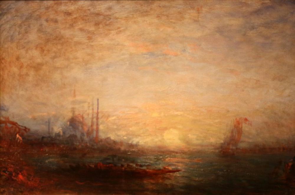 Félix Ziem Konstantinopolis, Oryantalizm, Félix Ziem, kanvas tablo, canvas print sales