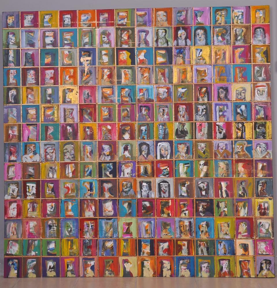 Sahire Kadınlar, Orijinal Tablolar, Fikret Öztürk, kanvas tablo, canvas print sales
