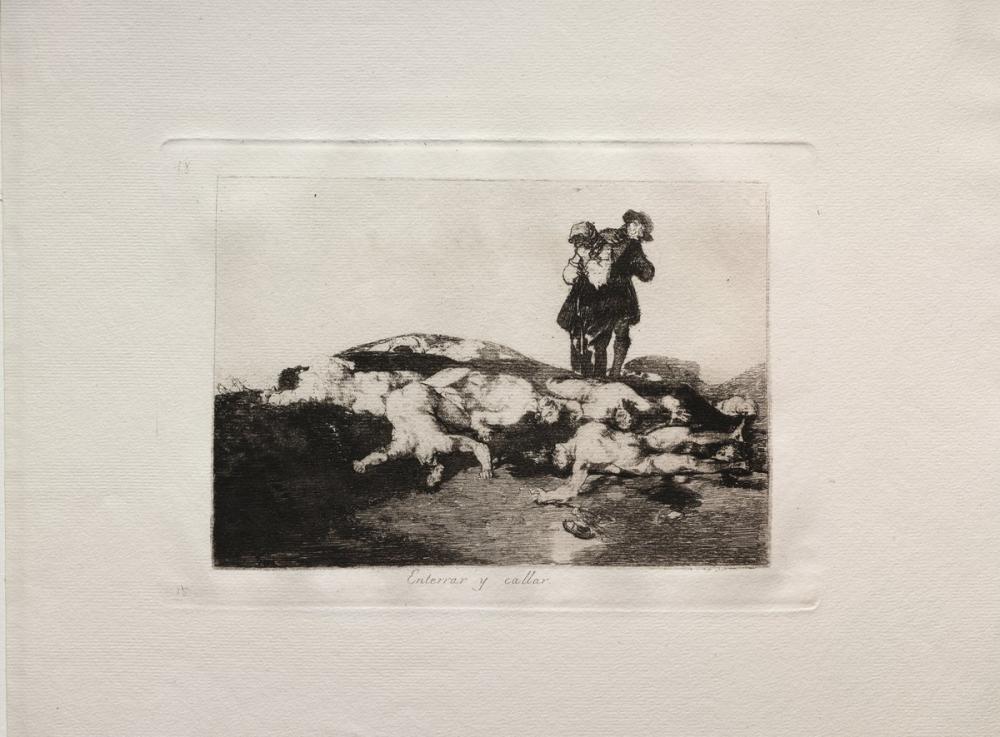 Francisco Goya, Onları Göm Ve Sessiz Ol, Figür, Francisco Goya, kanvas tablo, canvas print sales