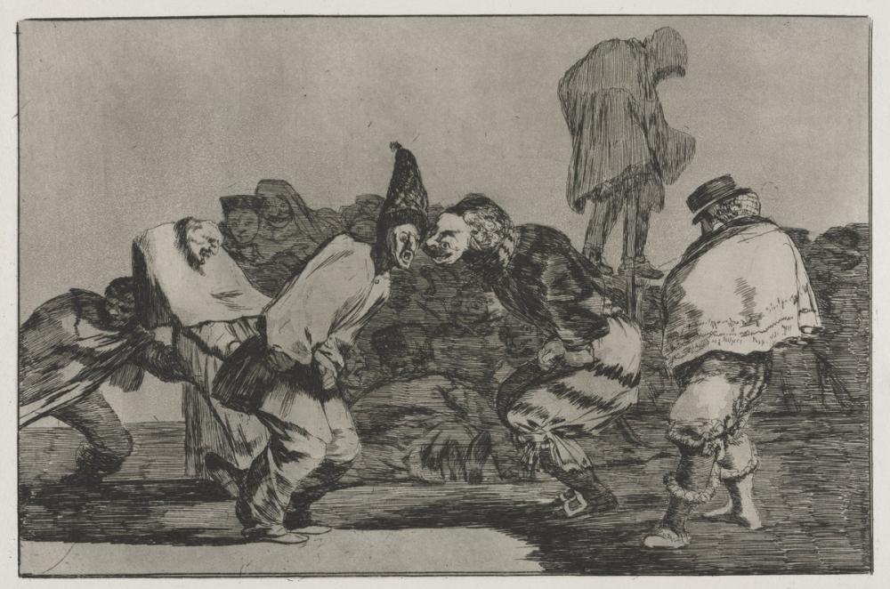 Francisco Goya, Çılgınlık Karnavalı, Figür, Francisco Goya, kanvas tablo, canvas print sales