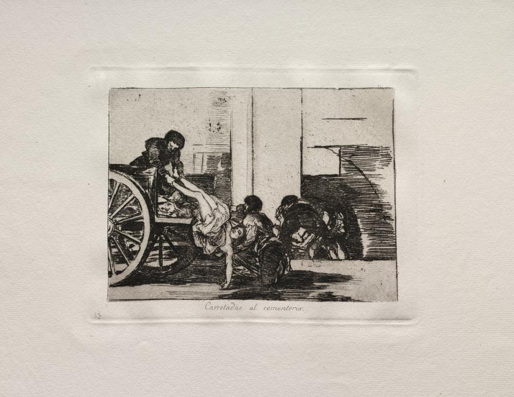 Francisco Goya, Mezarlığa Yığınlar, Figür, Francisco Goya, kanvas tablo, canvas print sales
