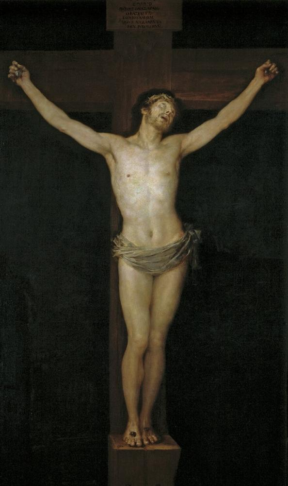 Francisco Goya, Christ On The Cross, Canvas, Francisco Goya, kanvas tablo, canvas print sales