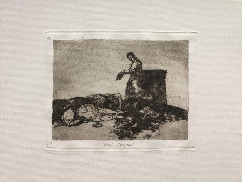 Francisco Goya, Vahşinin Zalim Masalı, Figür, Francisco Goya, kanvas tablo, canvas print sales