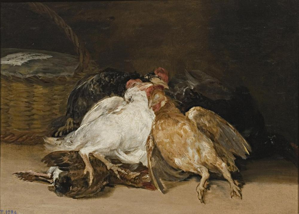 Francisco Goya, Dead Birds, Canvas, Francisco Goya, kanvas tablo, canvas print sales