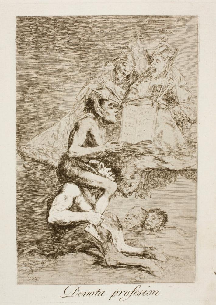 Francisco Goya, Dindar Meslek, Kanvas Tablo, Francisco Goya, kanvas tablo, canvas print sales