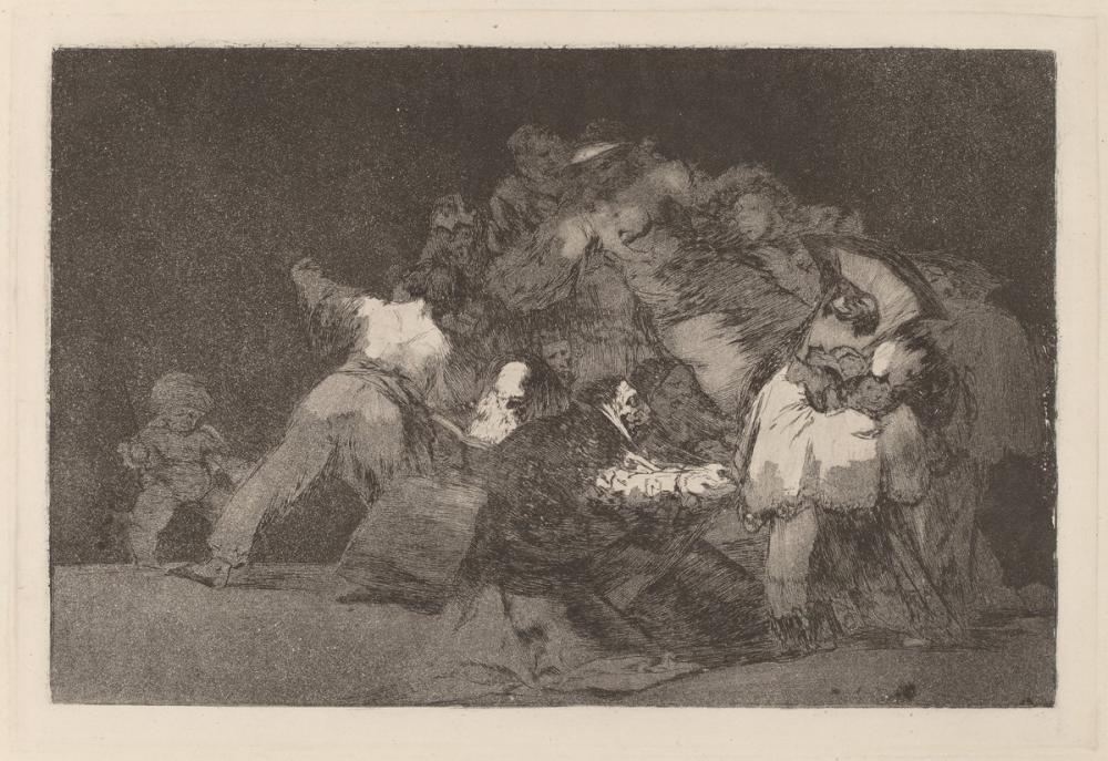 Francisco Goya, Disparate General, Canvas, Francisco Goya, kanvas tablo, canvas print sales