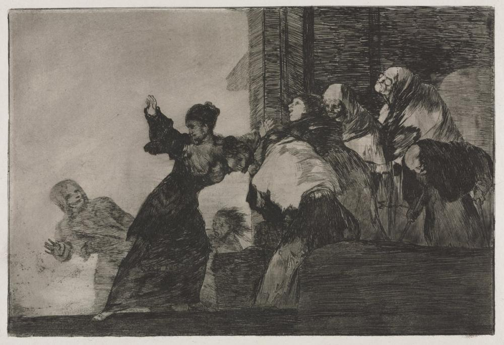 Francisco Goya, Disparate Pobre, Figure, Francisco Goya, kanvas tablo, canvas print sales