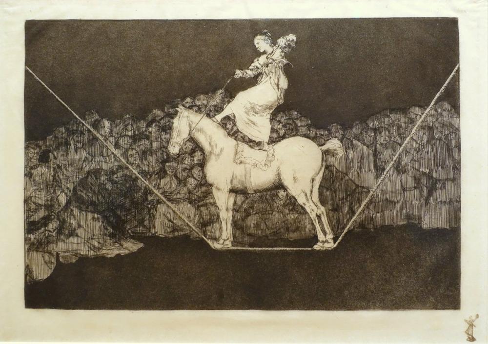 Francisco Goya, Disparate Puntual, Figure, Francisco Goya, kanvas tablo, canvas print sales