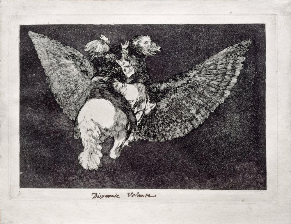 Francisco Goya, Saçma Direksiyon, Figür, Francisco Goya, kanvas tablo, canvas print sales
