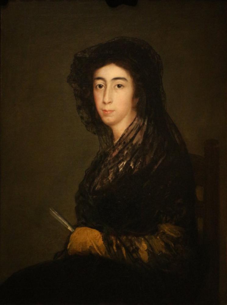 Francisco Goya, Dona Amalia Bonells de Costa, Canvas, Francisco Goya, kanvas tablo, canvas print sales