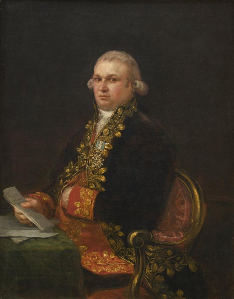 Francisco Goya, Don Antonio Noriega, Kanvas Tablo, Francisco Goya, kanvas tablo, canvas print sales