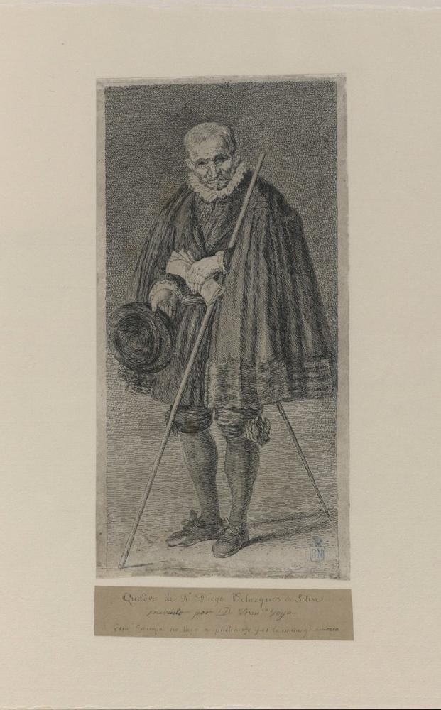 Francisco Goya, Velazquez e Göre Sekizinci Kaleci, Kanvas Tablo, Francisco Goya, kanvas tablo, canvas print sales