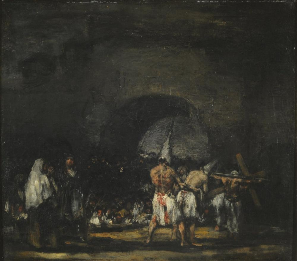 Francisco Goya, Disiplin Sahnesi, Figür, Francisco Goya, kanvas tablo, canvas print sales