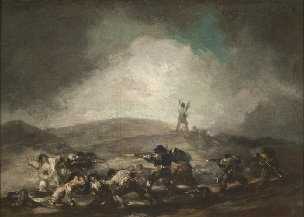 Francisco Goya, Savaş Sahnesi, Figür, Francisco Goya, kanvas tablo, canvas print sales