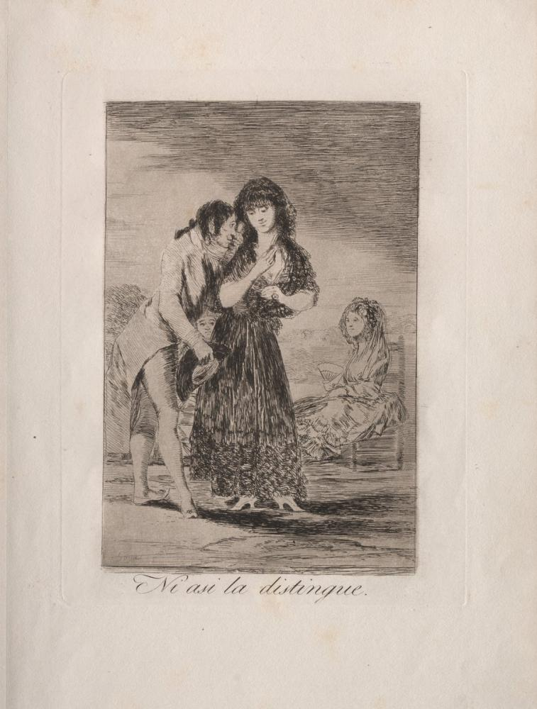 Francisco Goya, Even Thus He Cannot Make Her Out, Canvas, Francisco Goya, kanvas tablo, canvas print sales