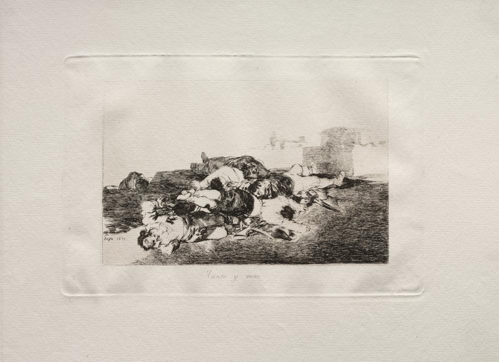 Francisco Goya, Daha da Kötüsü, Figür, Francisco Goya, kanvas tablo, canvas print sales