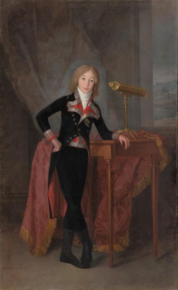 Francisco Goya, Francisco de Borja X Osuna, Kanvas Tablo, Francisco Goya, kanvas tablo, canvas print sales