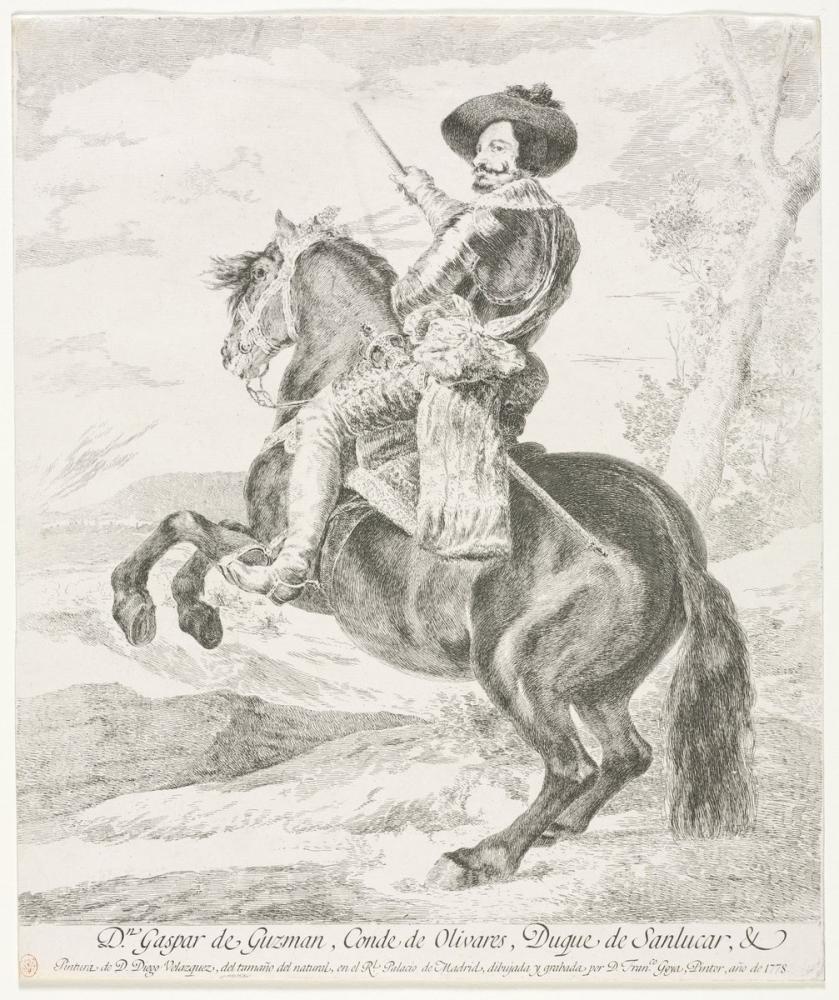 Francisco Goya, Gaspar de Guzman, Kanvas Tablo, Francisco Goya, kanvas tablo, canvas print sales