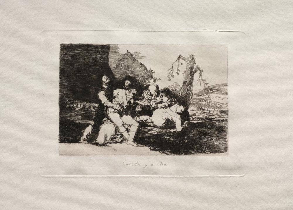 Francisco Goya, Savaşın Tecavüz Felaketleri, Figür, Francisco Goya, kanvas tablo, canvas print sales