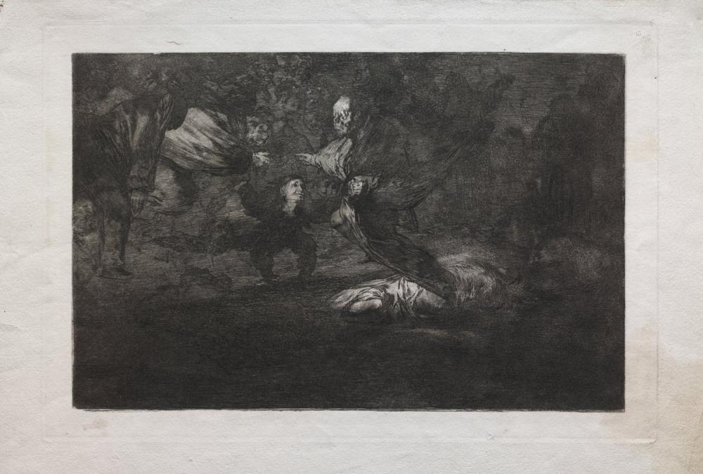 Francisco Goya, God Creates Them And They Join Up Together, Figure, Francisco Goya, kanvas tablo, canvas print sales