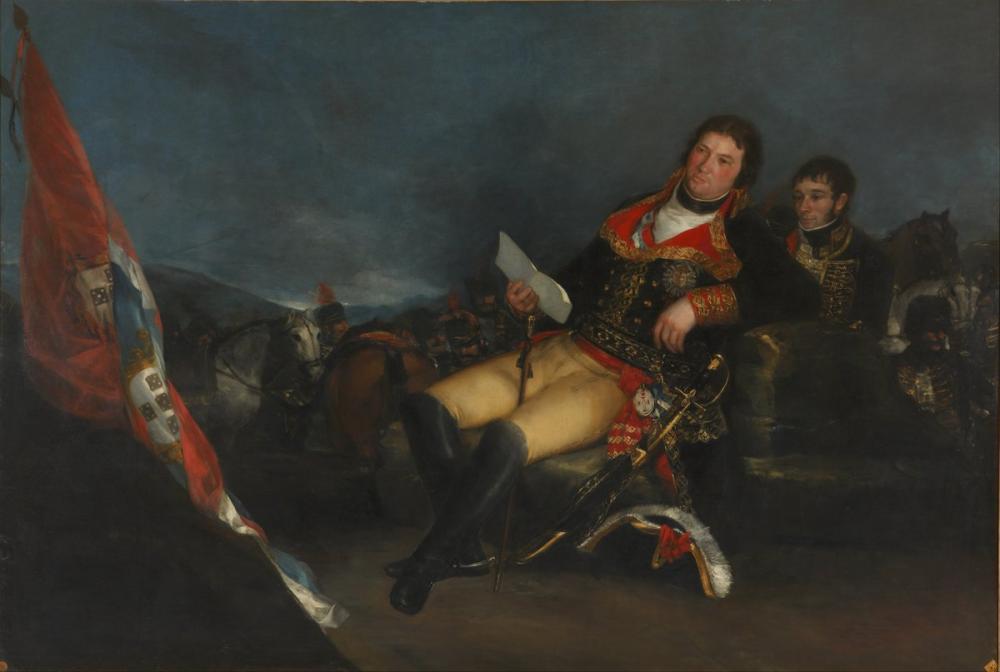 Francisco Goya, Genel Olarak Godoy, Kanvas Tablo, Francisco Goya, kanvas tablo, canvas print sales