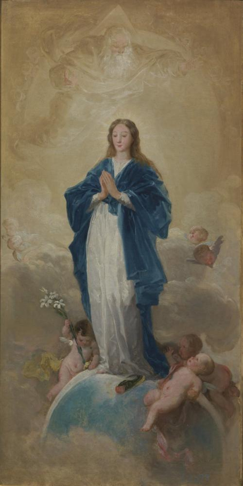 Francisco Goya, Immaculate Conception, Canvas, Francisco Goya, kanvas tablo, canvas print sales