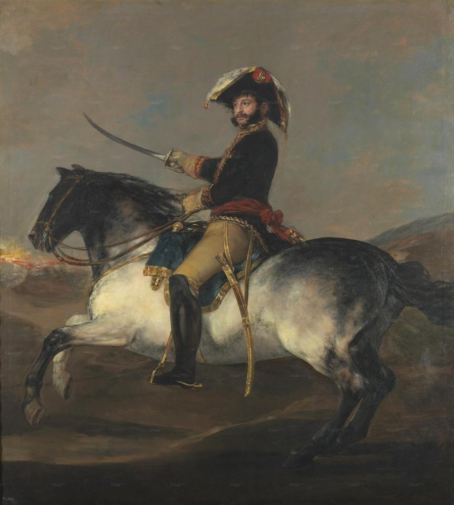 Francisco Goya, Jose de Palafox, Canvas, Francisco Goya, kanvas tablo, canvas print sales