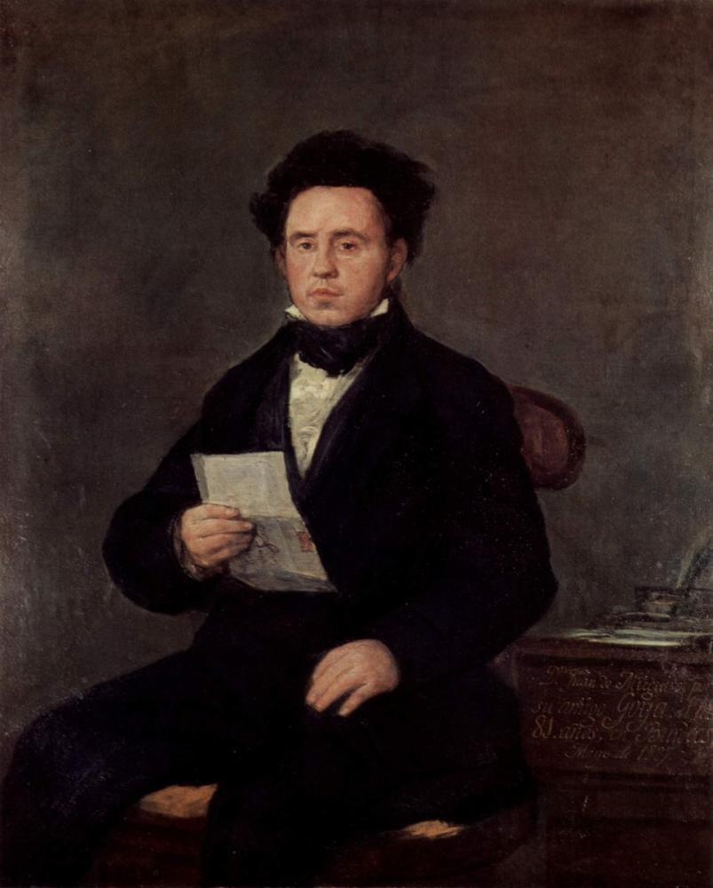 Francisco Goya, Juan Bautista de Muguiro, Kanvas Tablo, Francisco Goya, kanvas tablo, canvas print sales