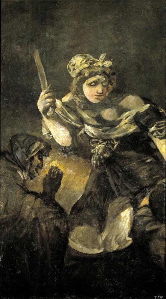 Francisco Goya, Judith And Holofernes, Figure, Francisco Goya, kanvas tablo, canvas print sales