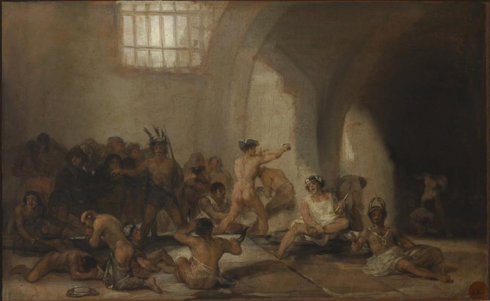 Francisco Goya, Çılgın Ev, Kanvas Tablo, Francisco Goya, kanvas tablo, canvas print sales