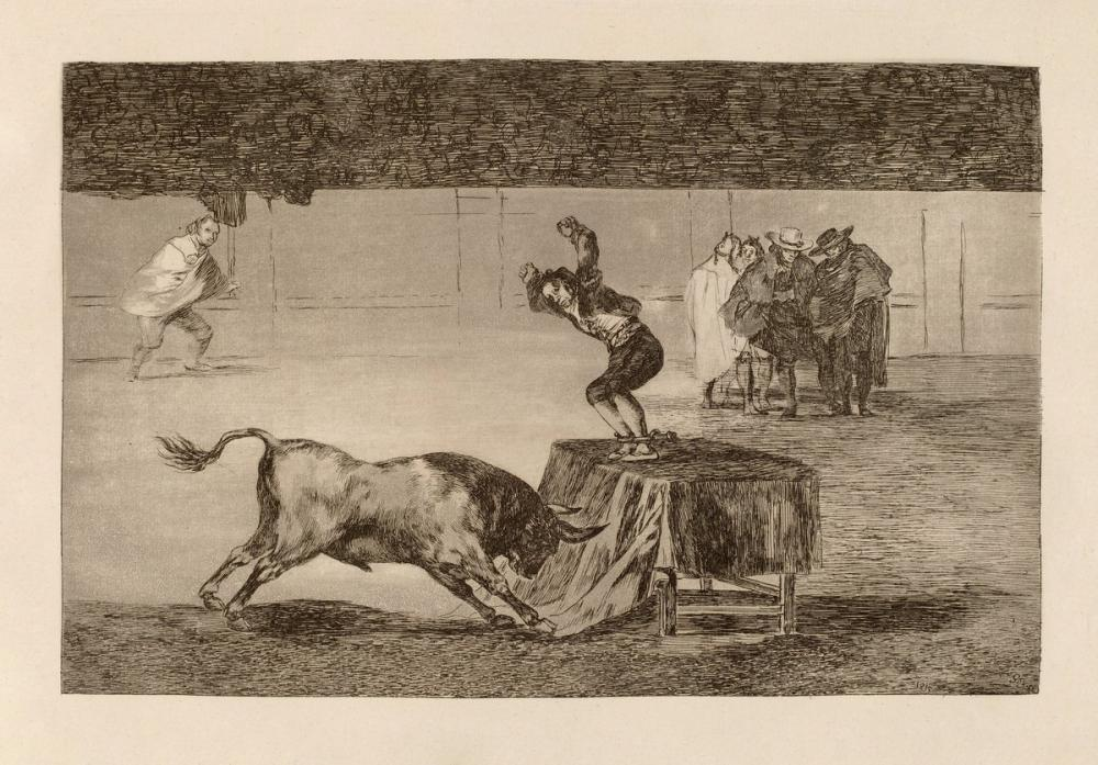 Francisco Goya, Another Madness Of His In The Same Ring, Canvas, Francisco Goya, kanvas tablo, canvas print sales