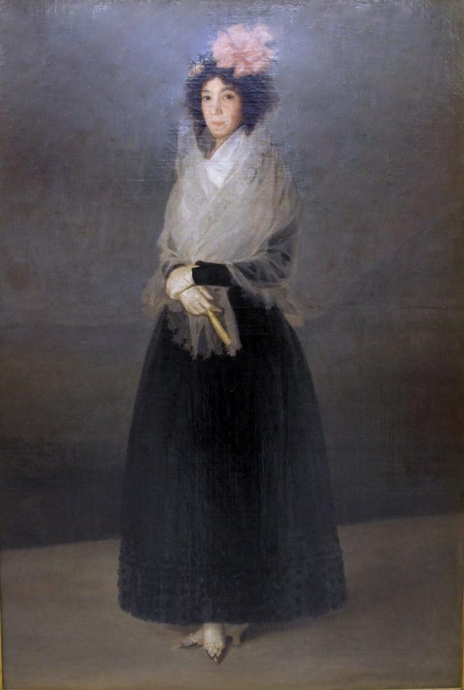 Francisco Goya, La Contessa Del Carpio Marchesa Della Solana, Canvas, Francisco Goya, kanvas tablo, canvas print sales