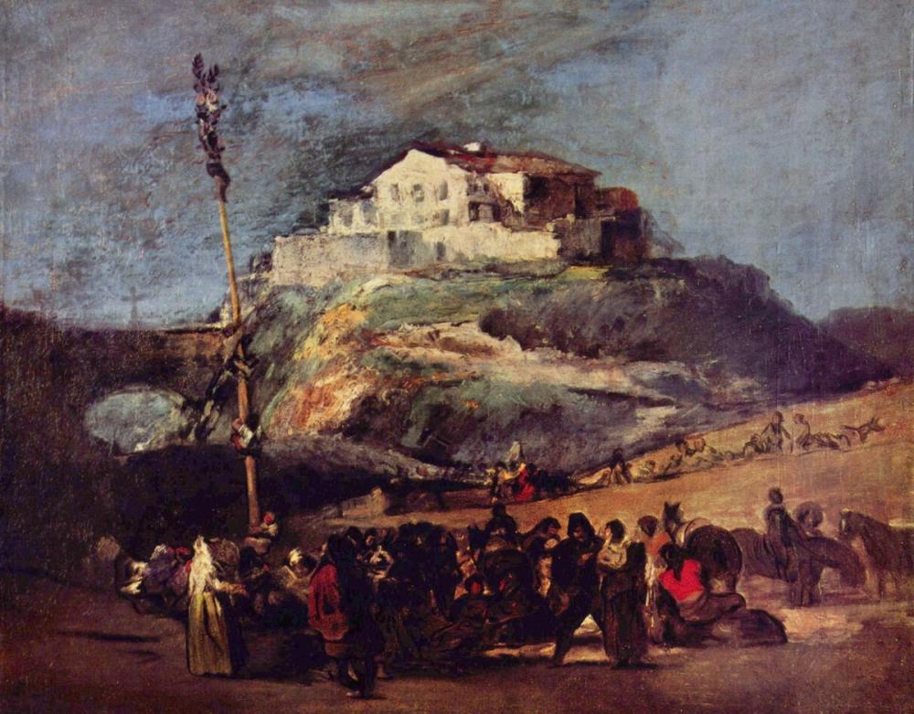 Francisco Goya, La Cucana, Kanvas Tablo, Francisco Goya, kanvas tablo, canvas print sales