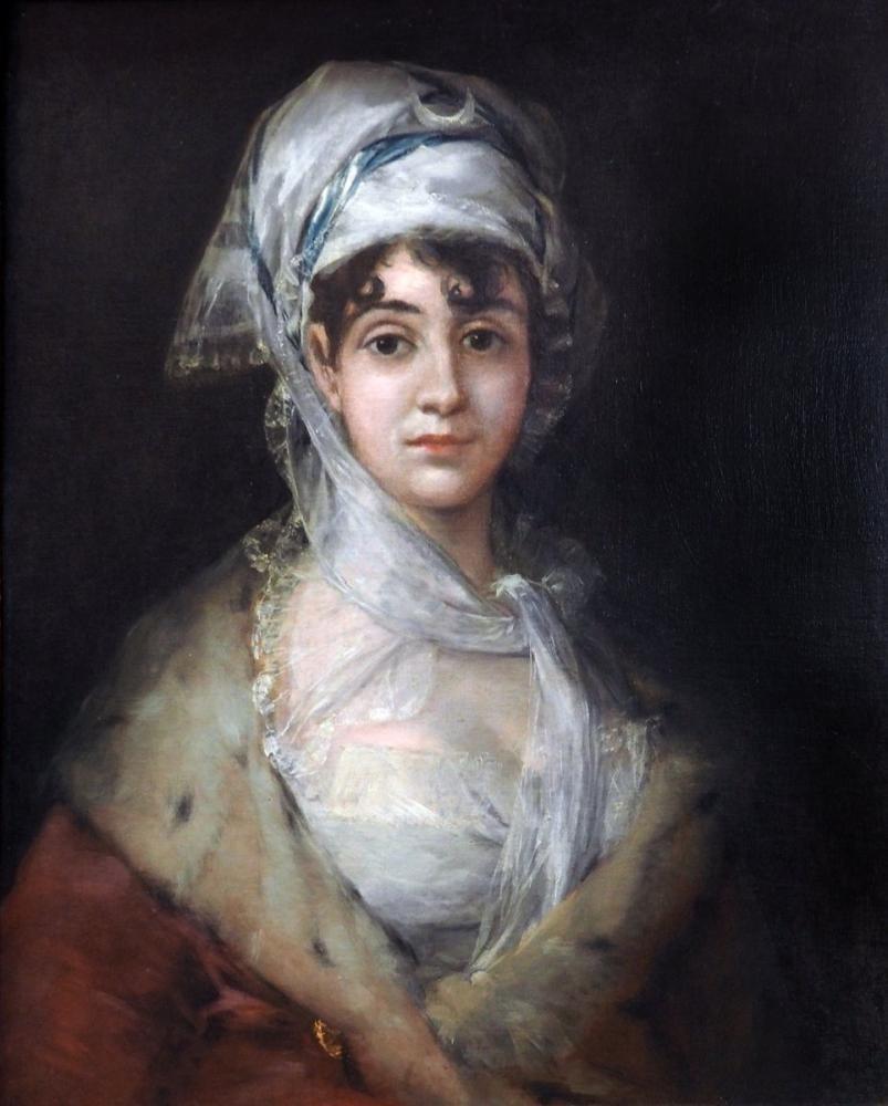 Francisco Goya, Antonia Zarate, Kanvas Tablo, Francisco Goya, kanvas tablo, canvas print sales
