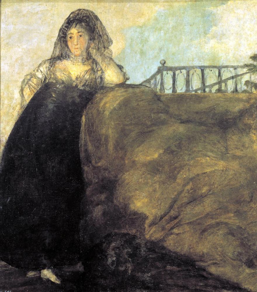 Francisco Goya, La Leocadia, Kanvas Tablo, Francisco Goya, kanvas tablo, canvas print sales