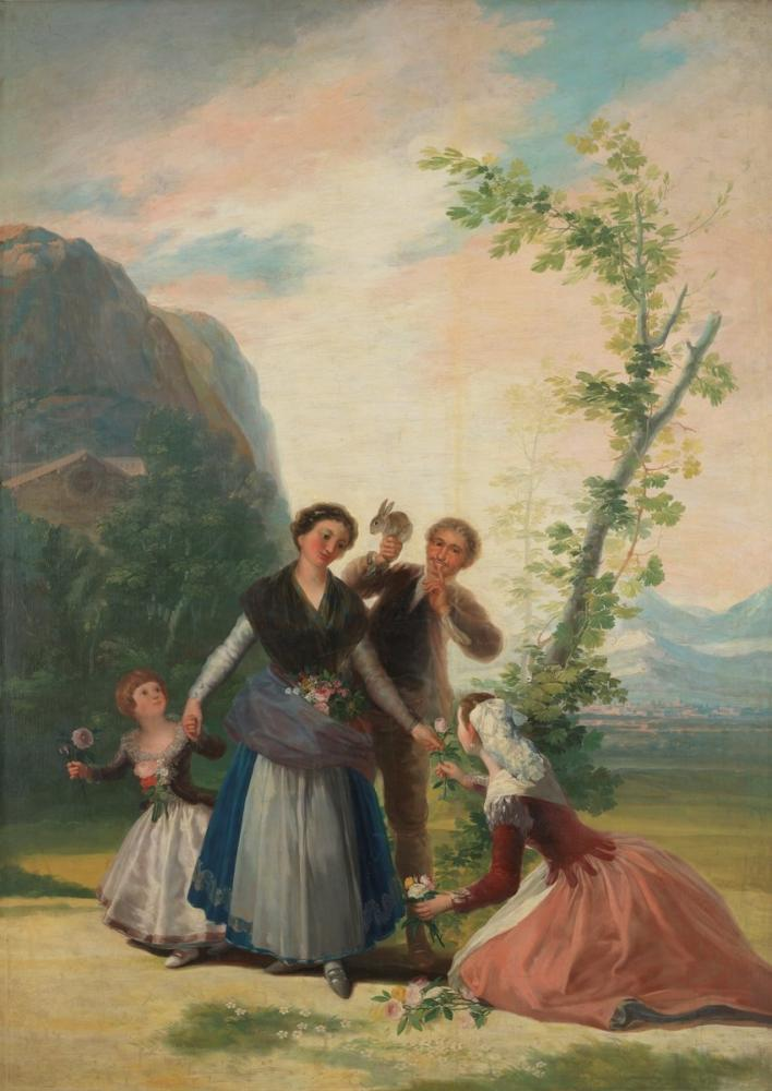 Francisco Goya, Vazolar, Kanvas Tablo, Francisco Goya, kanvas tablo, canvas print sales