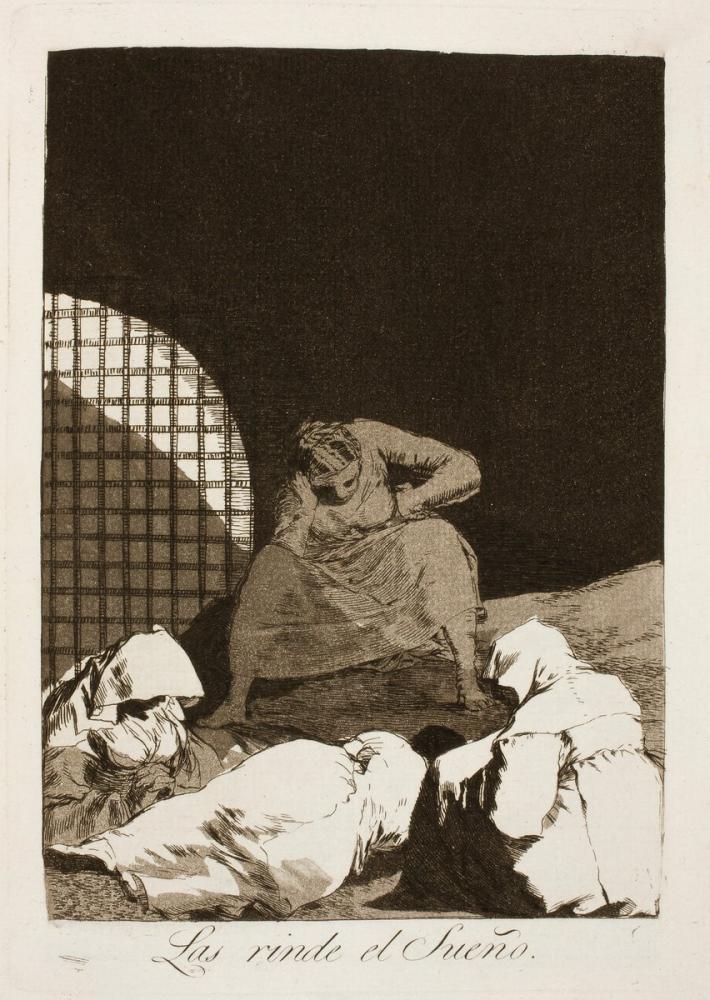 Francisco Goya, Rüya Onları İşler, Figür, Francisco Goya, kanvas tablo, canvas print sales