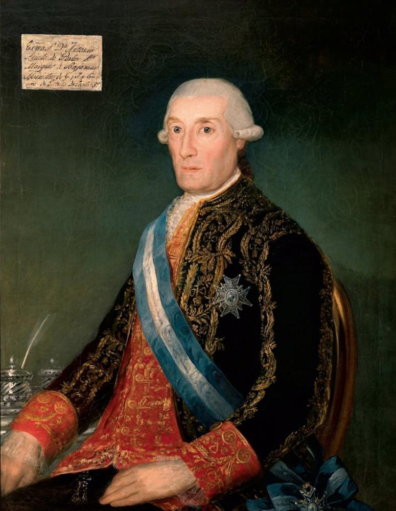 Francisco Goya, Antonio Aniceto de Porlier Marqués de Bajamar, Canvas, Francisco Goya, kanvas tablo, canvas print sales