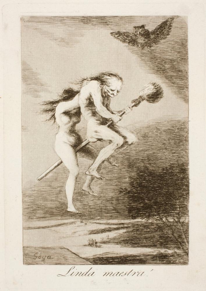 Francisco Goya, Güzel Öğretmen, Figür, Francisco Goya, kanvas tablo, canvas print sales
