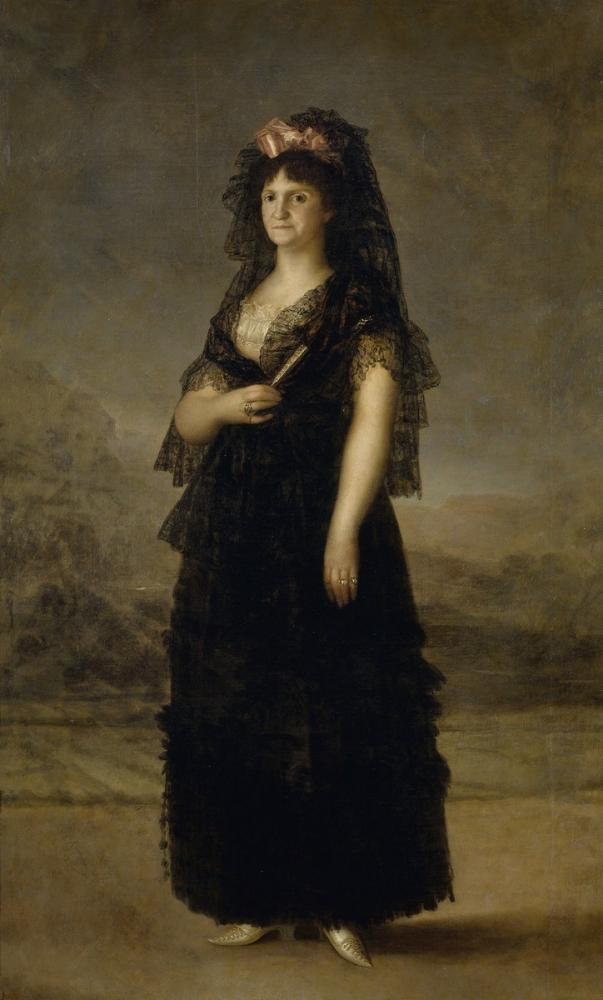 Francisco Goya, Maria Luisa, Kanvas Tablo, Francisco Goya, kanvas tablo, canvas print sales